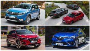 Los 10 coches más vendidos en 2020