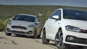 Fotos de la comparativa Ford Fiesta ST vs VW Polo GTI