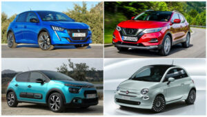 Los 10 coches más vendidos en marzo de 2021