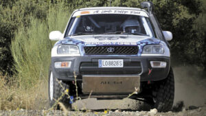 Toyota RAV4: prueba racing