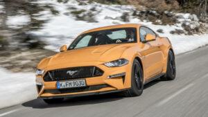 Fotos de la prueba del Ford Mustang 2018