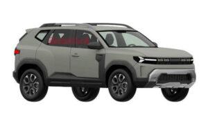 Fotos: Dacia Bigster 2021, filtrado