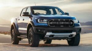 Fotos del Ford Ranger Raptor