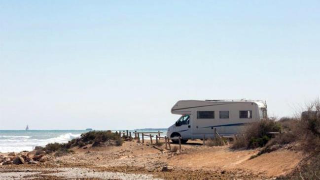 Playas bandera azul. Top camper sites