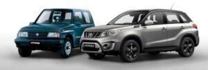 Fotos del 30 aniversario del Suzuki Vitara