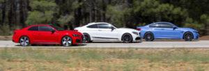 BMW M4 vs Audi RS 5 vs Mercedes-AMG C63