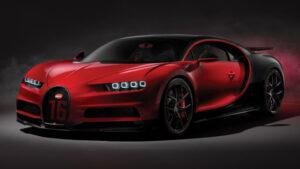 Fotos del Bugatti Chiron Sport
