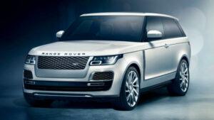 Fotos del Range Rover SV Coupé