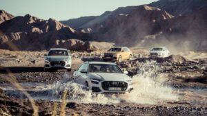 Fotos de la prueba del Audi Q8 en Chile