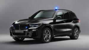 Fotos del BMW X5 Protection VR6