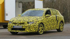 Primeras fotos espía del Opel Astra 2022