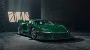 Fotos del McLaren Senna Emerald Green