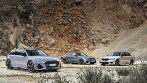 Fotos: BMW M5 Competition vs. Audi RS 6 vs. Mercedes E 63 S