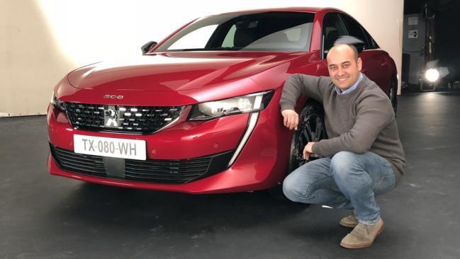 Fotos exclusivas del nuevo Peugeot 508