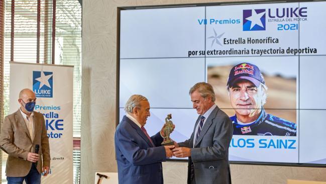 Fotos: Carlos Sainz Premio Estrella Luike Del Motor