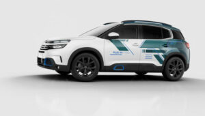 Fotos del Citroen C5 Aircross Hybrid Concept