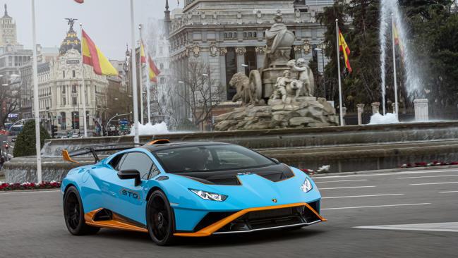 Nuevo Lamborghini Huracán STO 2021: un modelo de competición para la carretera
