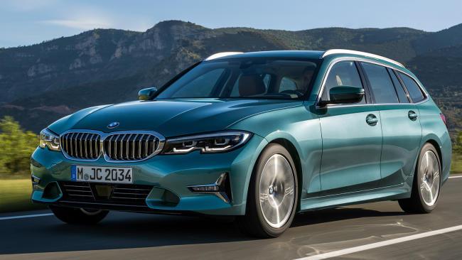 Prueba del BMW 318d Touring: faceta práctica