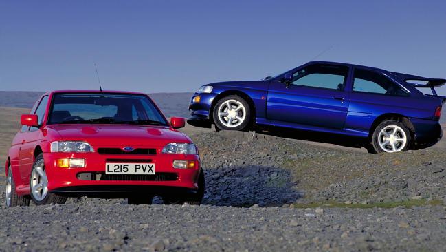 Héroes de los rallyes: Ford Escort RS Cosworth