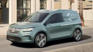 Fotos del Renault Kangoo Z.E. Concept