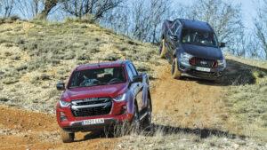 Fotos: Comparativa Ford Ranger vs. Isuzu D-Max