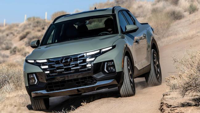 Hyundai Santa Cruz; la versión pick up del Tucson