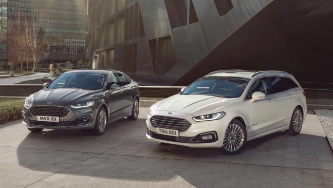Fotos del Ford Mondeo Hybrid 2019