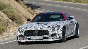 Fotos espía del Mercedes-AMG GT R Black Series