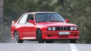 Fotos del BMW M3 E30 Sport Evolution