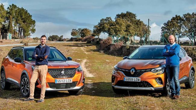Nuestros lectores prueban el Peugeot 2008 y el Renault Captur
