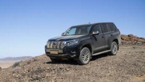 Fotos del nuevo Toyota Land Cruiser en Namibia