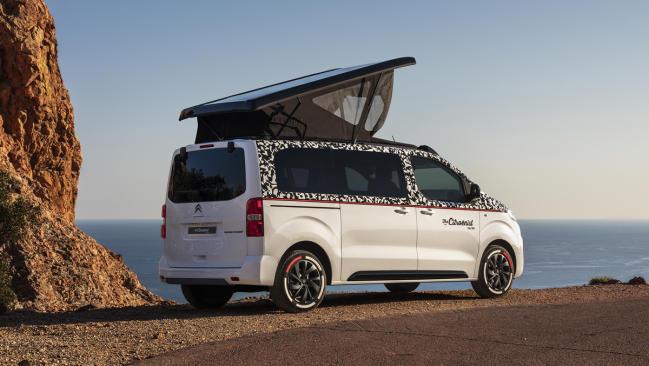 Citroën SpaceTourer The Citroënist Concept: futura furgoneta camper a la vista