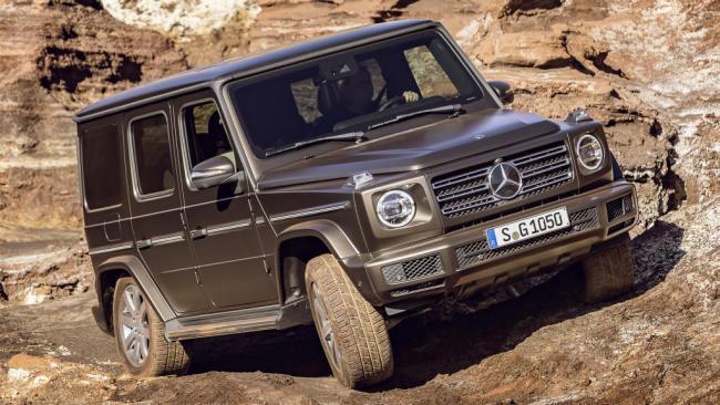 Mercedes-Benz Clase G 400 d: nueva versión diésel con mayor potencia