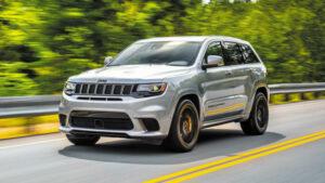 Fotos de la prueba del Jeep Grand Cherokee Trackhawk