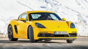 Fotos del Porsche 718 Cayman GTS en los Pirineos