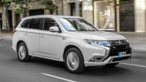 Fotos del Mitsubishi Outlander PHEV 2019 a prueba