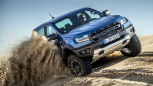 Fotos del Ford Ranger Raptor a prueba