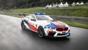 Fotos del BMW M8 MotoGP Safety Car
