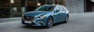 Fotos de la prueba del Mazda 6 2017