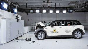 EuroNCAP: sus pruebas de seguridad en imágenes