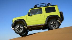 Fotos del Suzuki Jimny en Marruecos