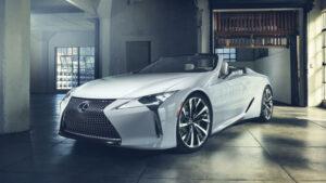 Fotos del Lexus LC Cabriolet Concept
