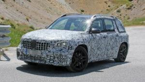 Fotos espía del Mercedes-AMG GLB 45