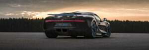Fotos del récord del Bugatti Chiron