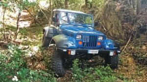 Fotos del Jeep Wrangler YJ «López»