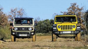 Fotos: Suzuki Jimny vs. Jeep Wrangler