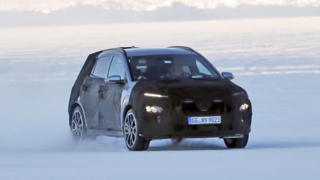 ¡Cazado! Primeras imágenes del nuevo Hyundai Kona N en los test de invierno