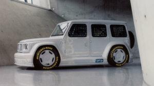 Project Geländewagen, el Mercedes Clase G convertido en obra de arte