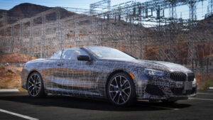 Primeras fotos del BMW Serie 8 Cabrio en Death Valley