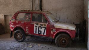 Fotos del Lada Niva Paris-Dakar 1981 a subasta